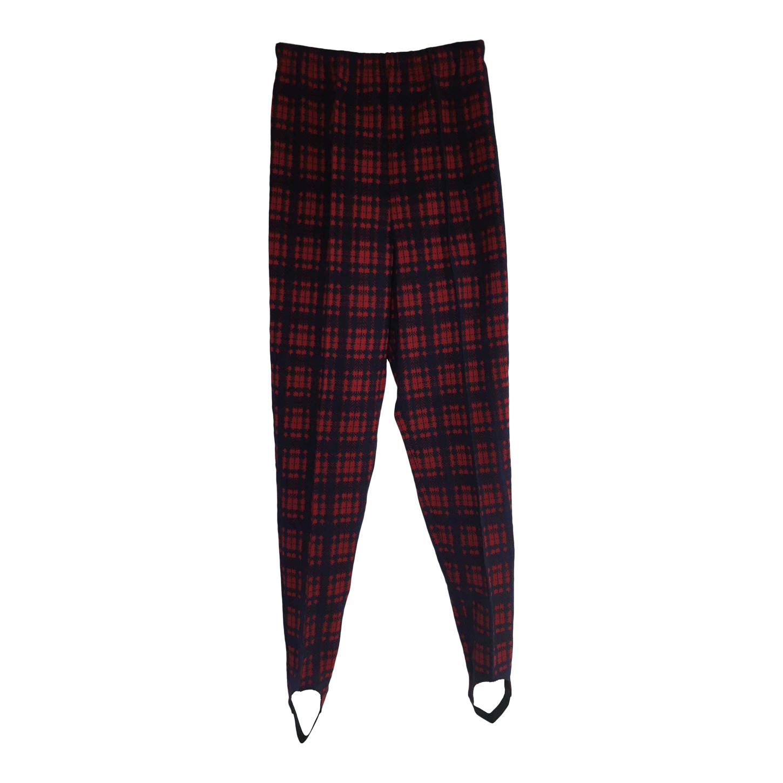 Pantalon fuseau tartan