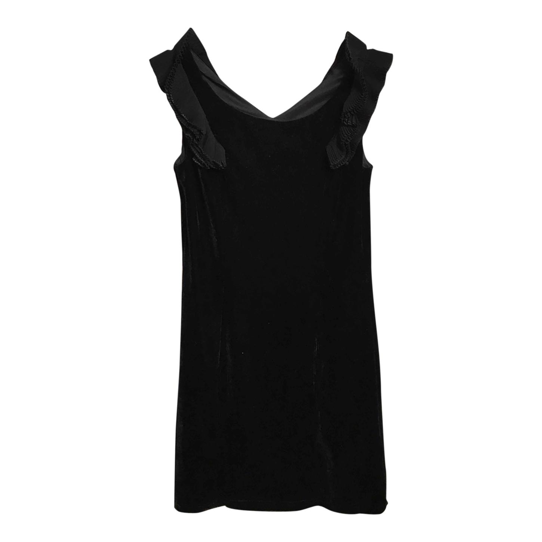 Mini robe en velours