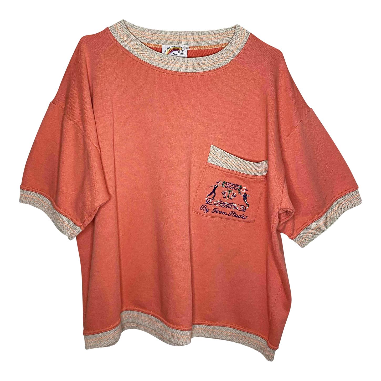 Sweat-shirt à manches courtes