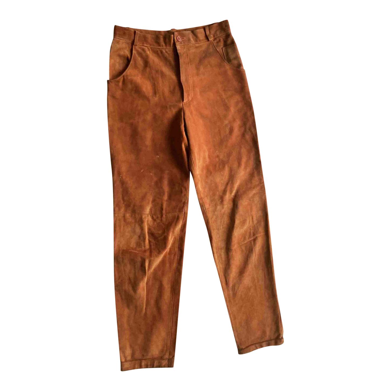 Pantalon en daim Armani