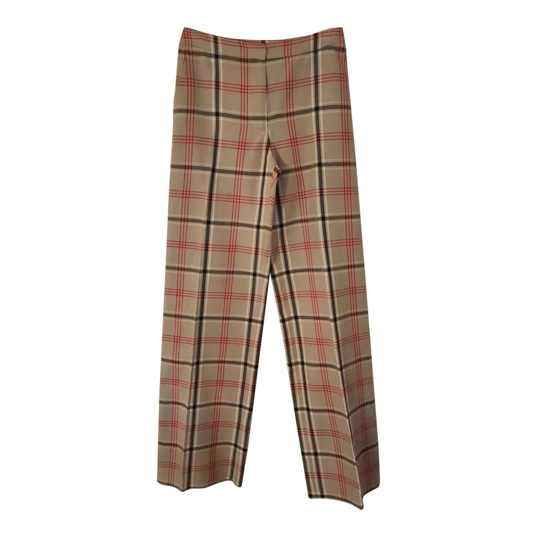 Pantalons à carreaux