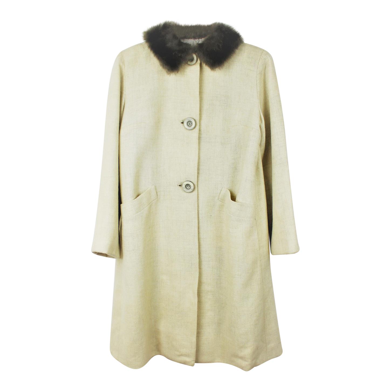 Manteau en laine.
