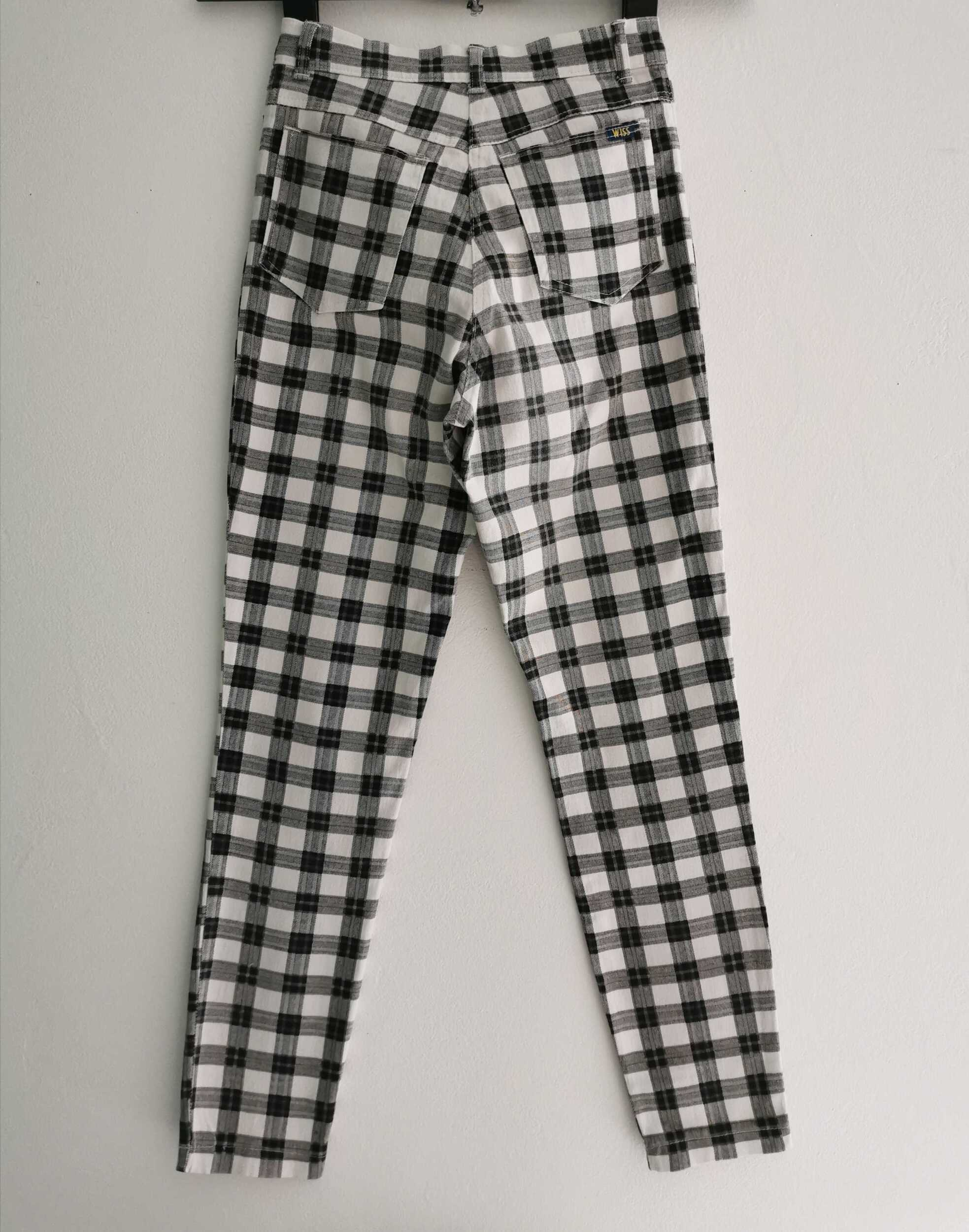 trousers checkered