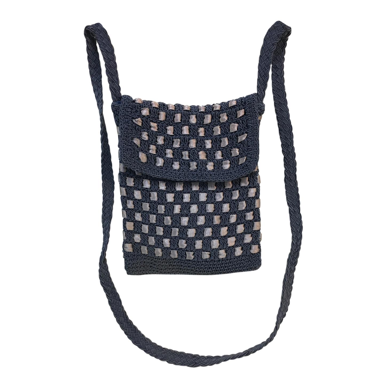 Mini sac en tricot