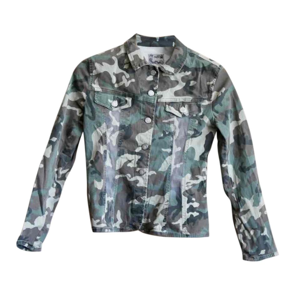 Veste camouflage 90s