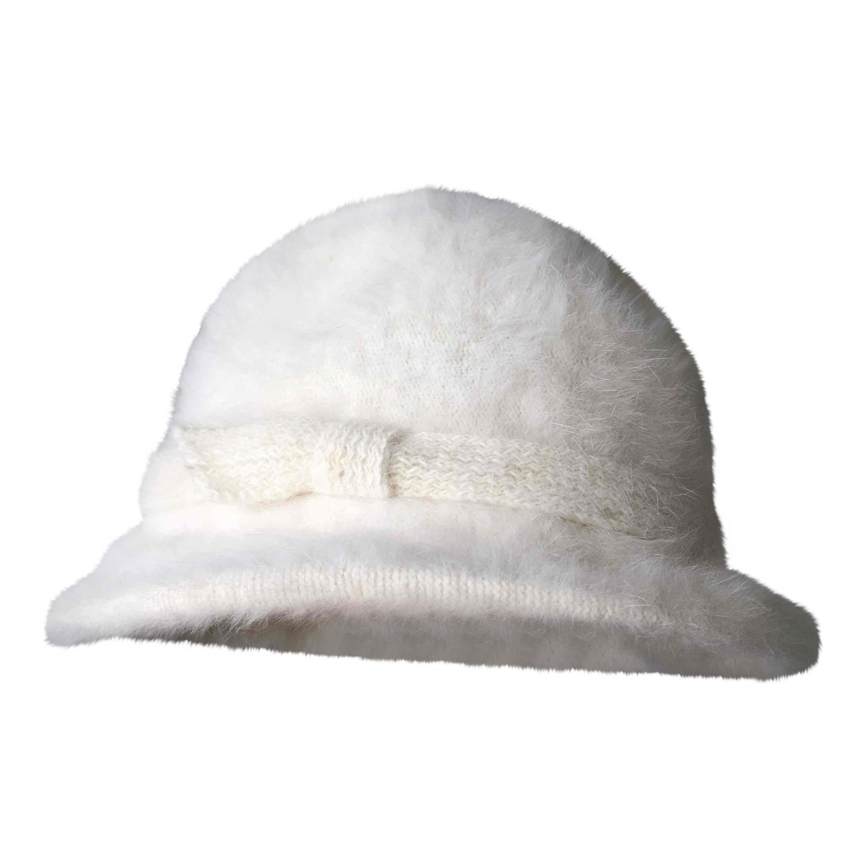 Chapeau en angora