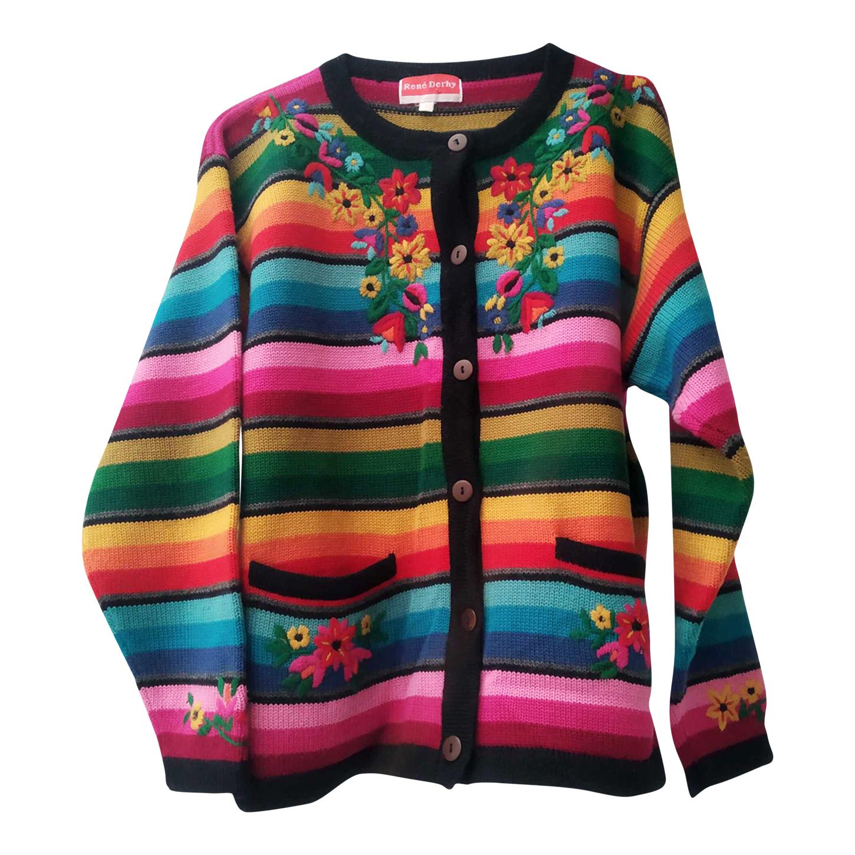 Cardigan multicolore
