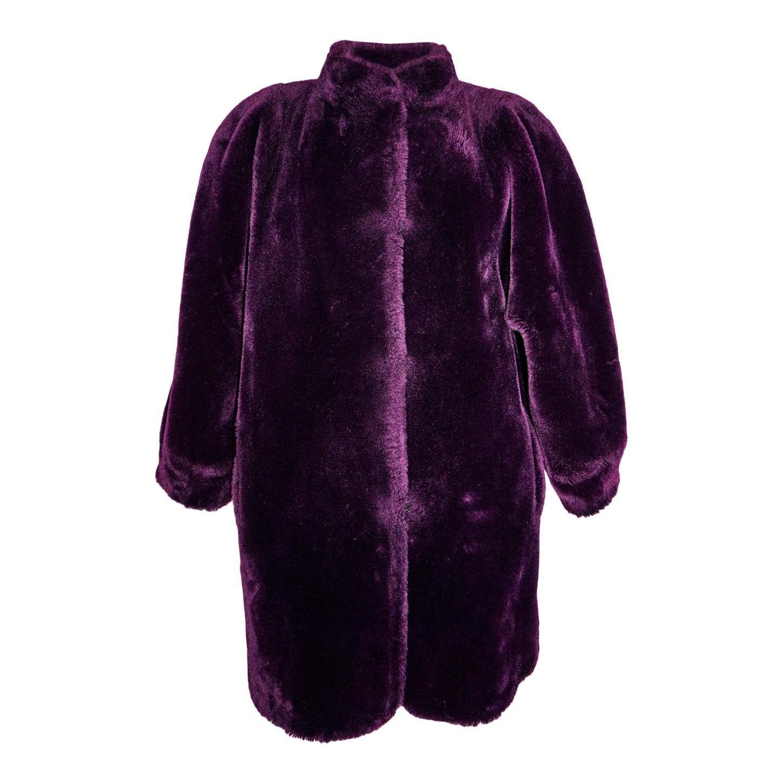 Manteau en fausse fourrure 80's