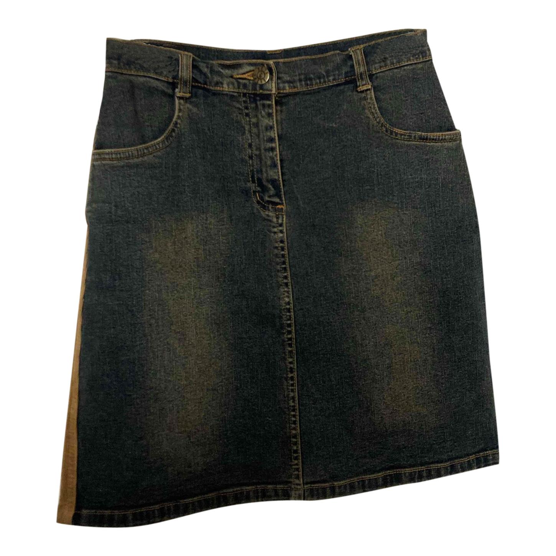Mini jupe bi matière