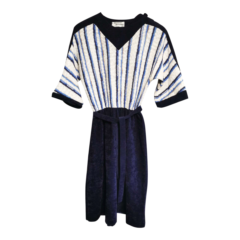 Robe en velours 70's