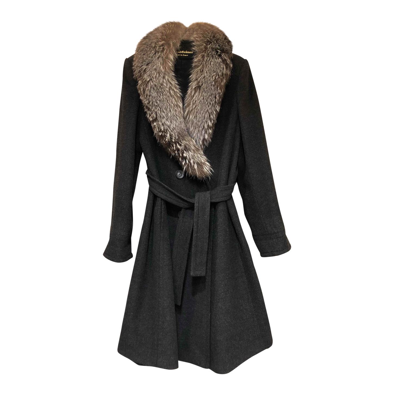 Manteau en cachemire et angora
