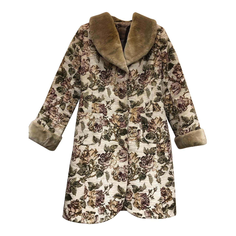 Manteau à fleurs