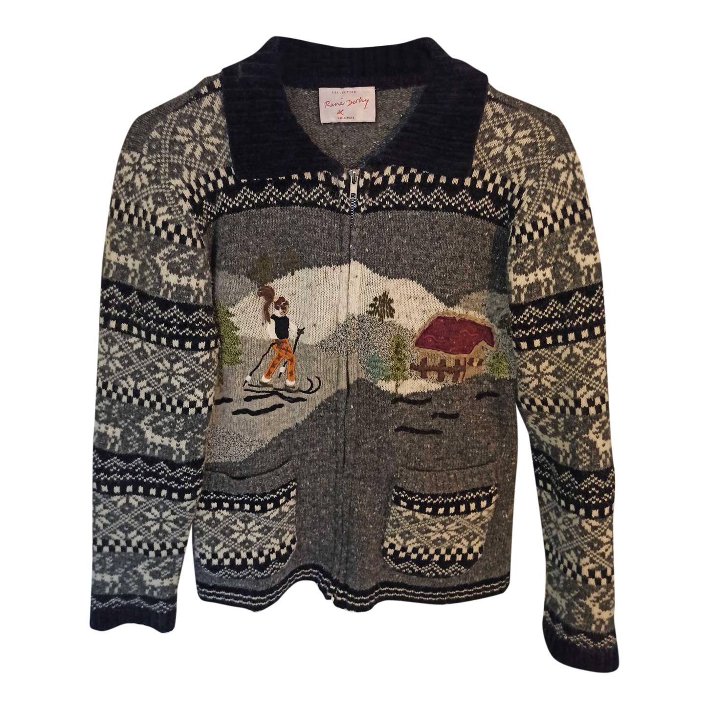 Pull en laine et angora