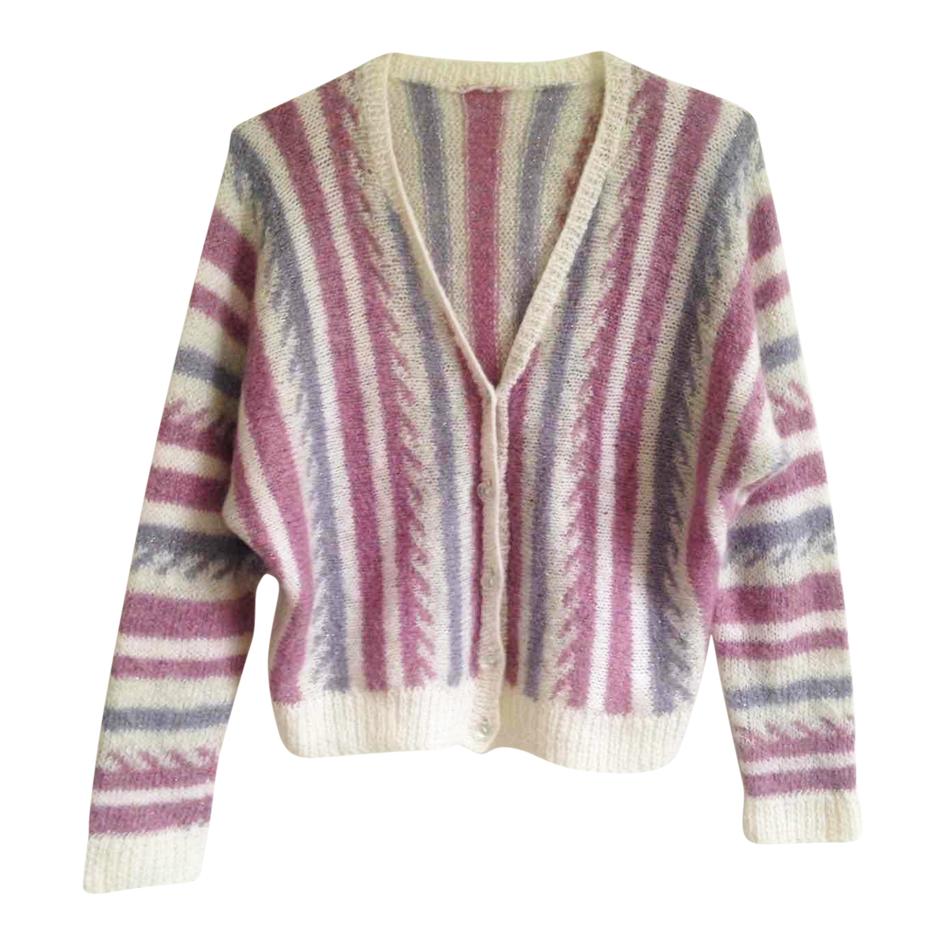 Cardigan en laine et lurex