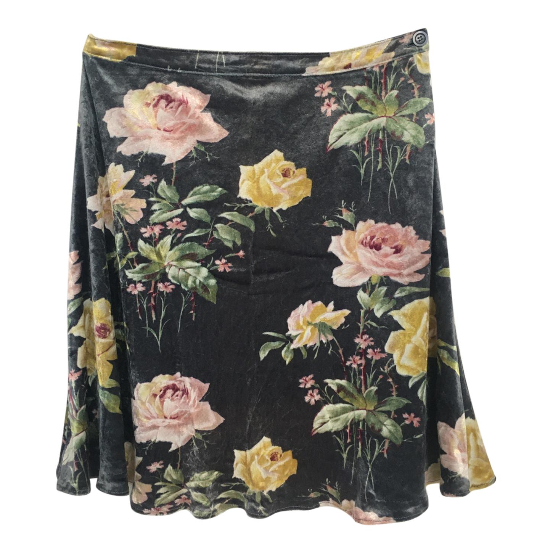 Mini jupe en velours