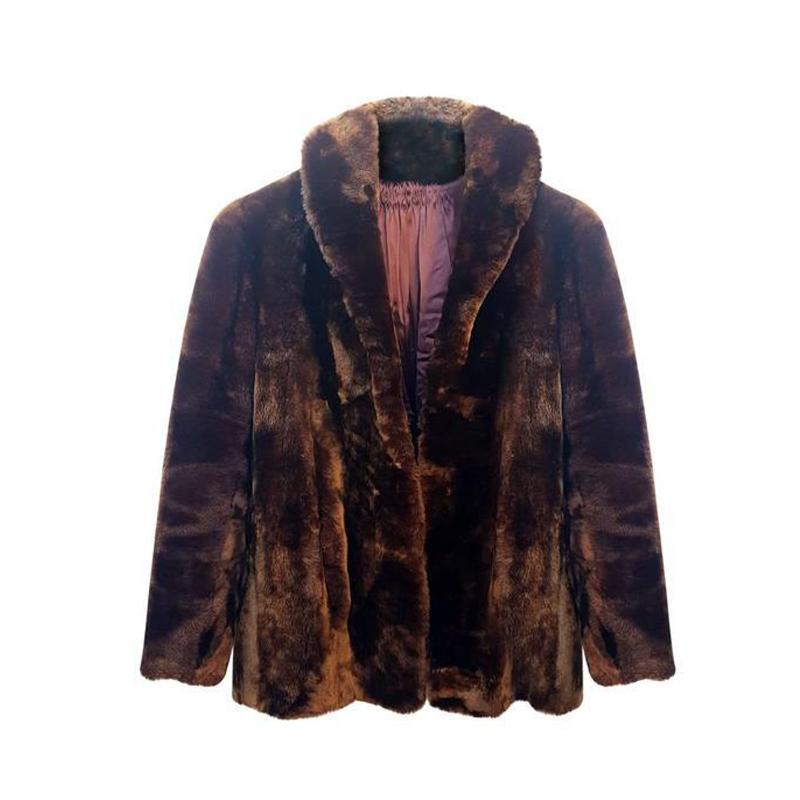 Manteau mouton doré