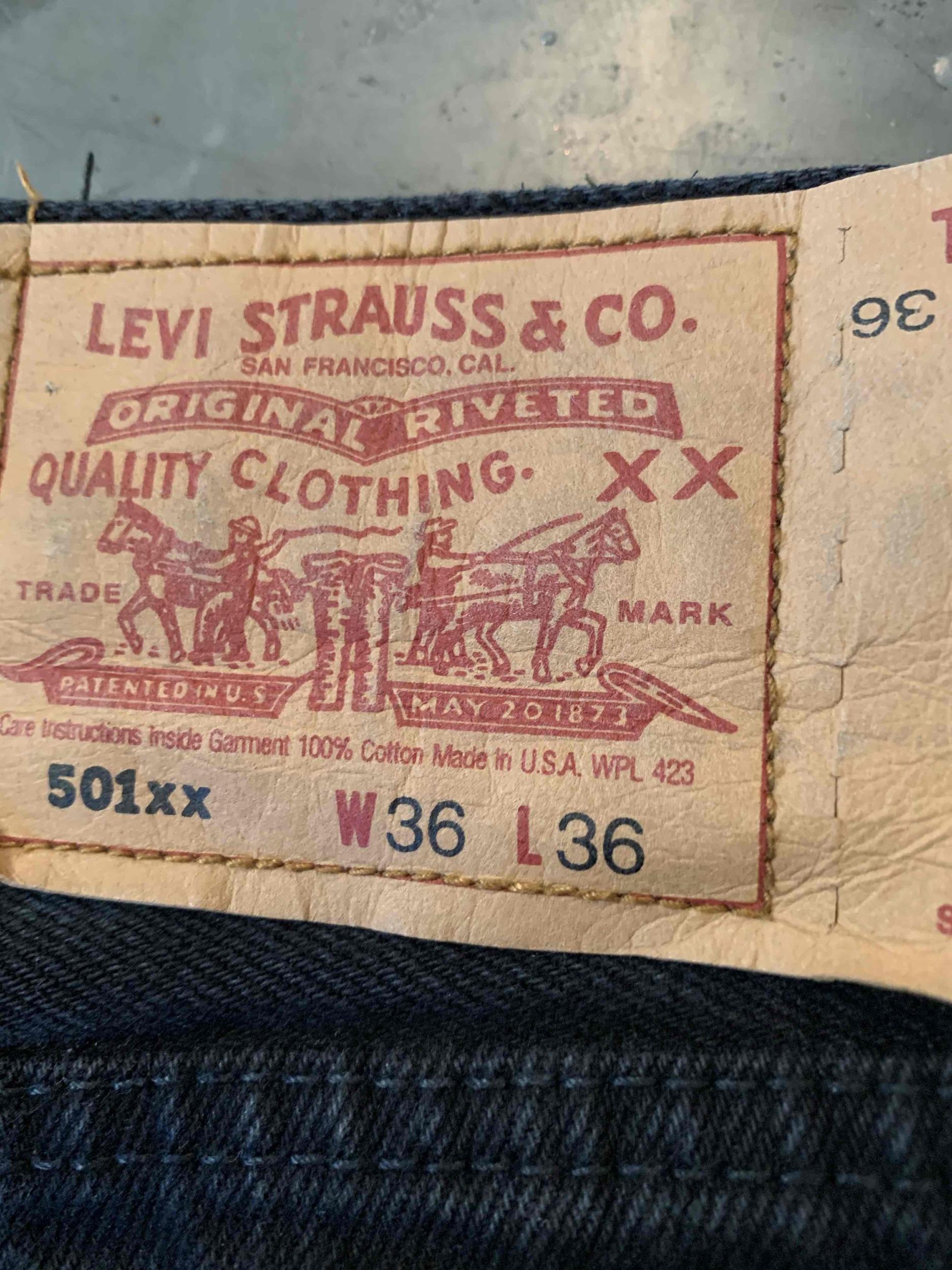 Jean Levi's 501 W36L36