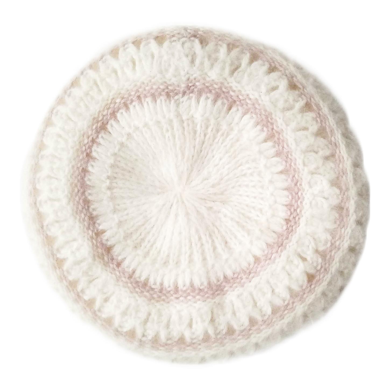 Béret en angora et laine