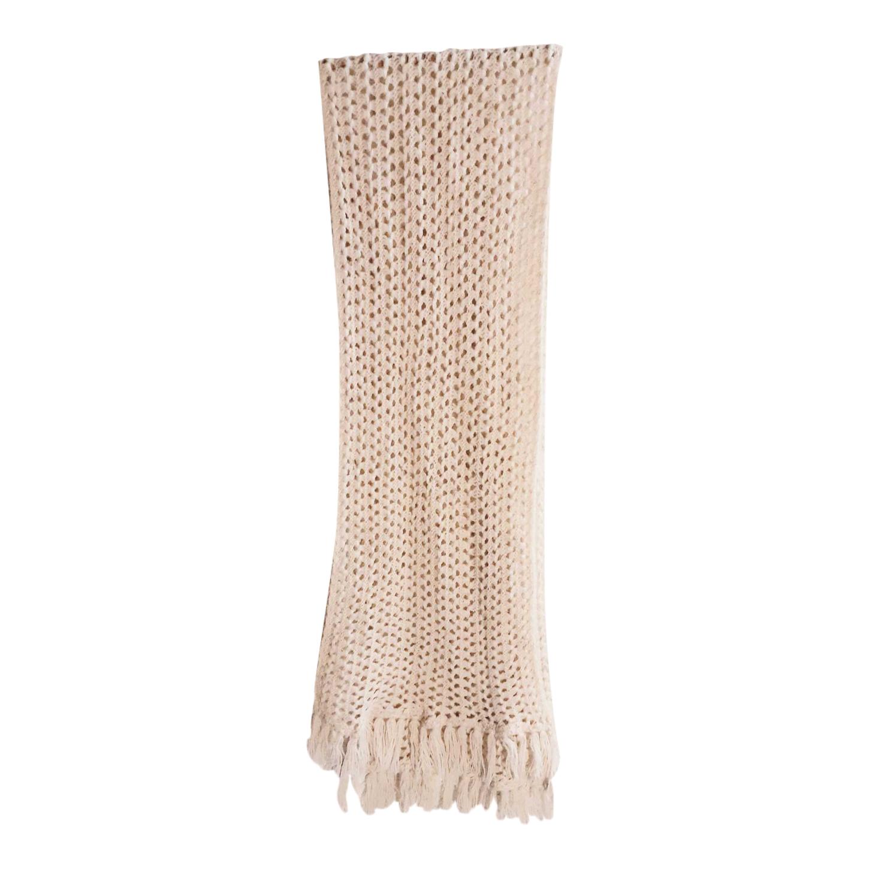 Écharpe en laine et crochet