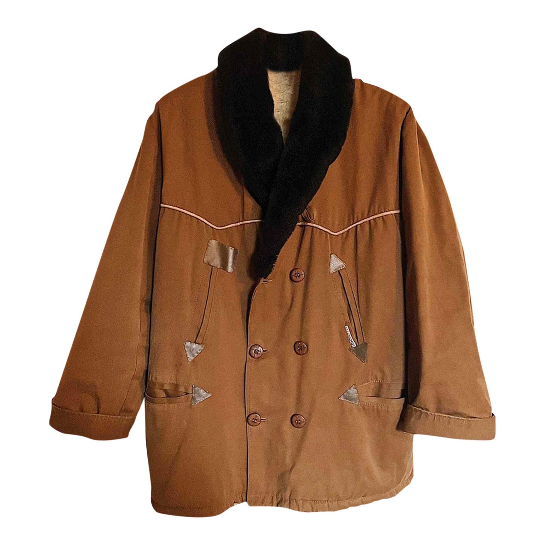 Manteau en coton laine