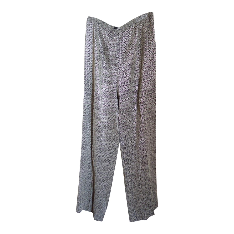 Pantalon fluide en lurex