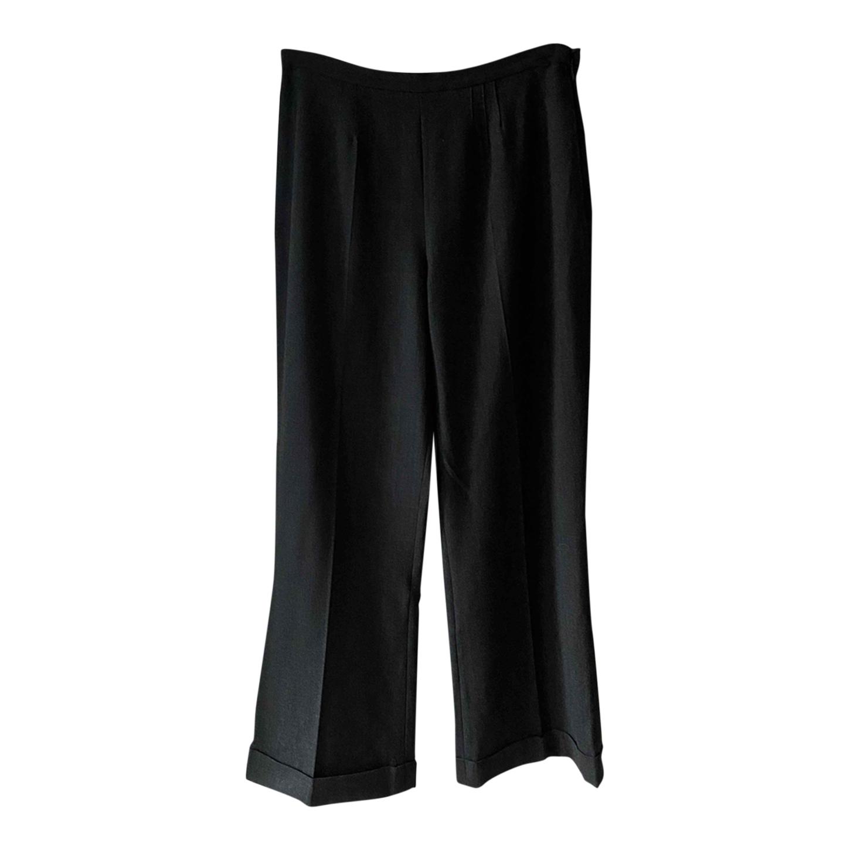 Pantalon flare en maille