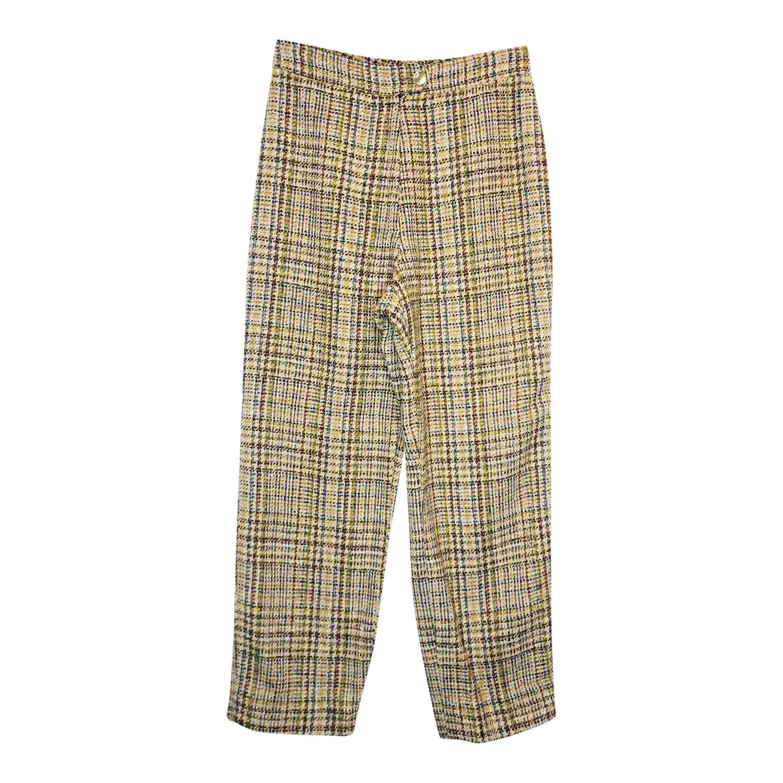 Pantalon en tweed