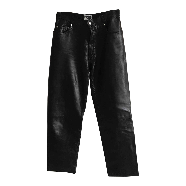 Pantalon en cuir