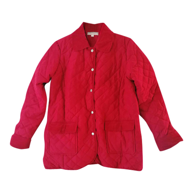 Manteau matelassé rouge