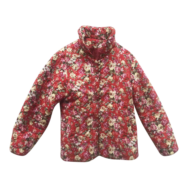Veste en coton à fleurs