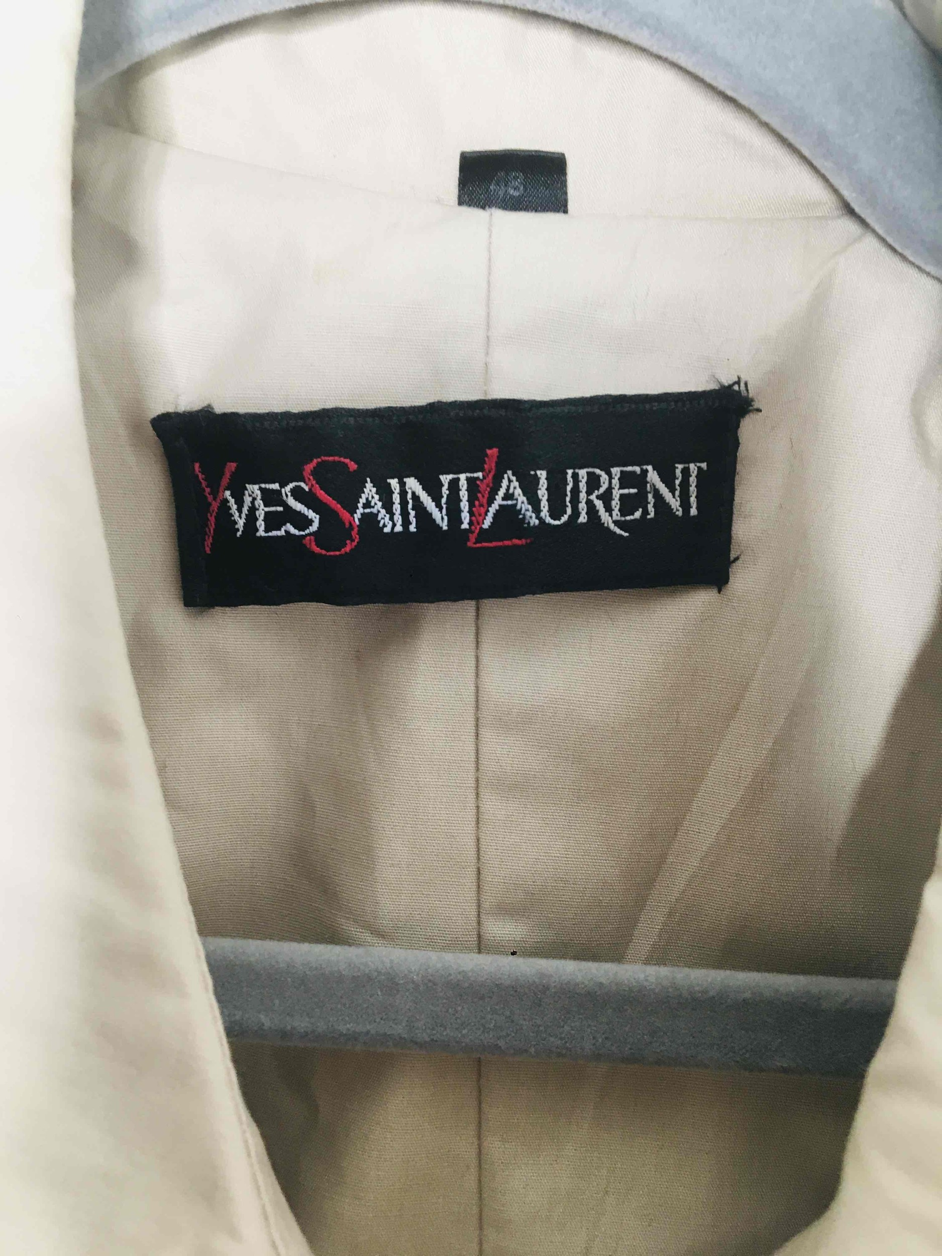 Trench Yves Saint Laurent