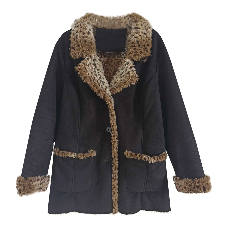 Manteau léopard 90s
