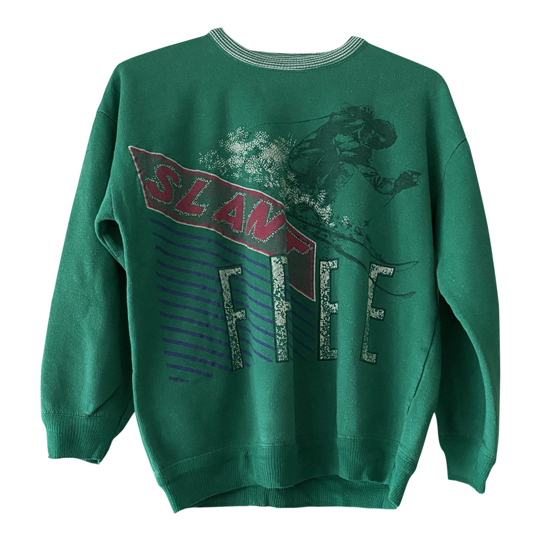 Sweat-shirt ski 80's