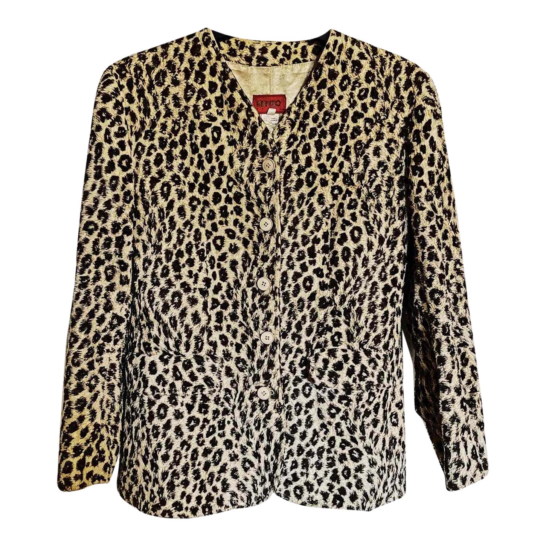 Veste léopard Kenzo