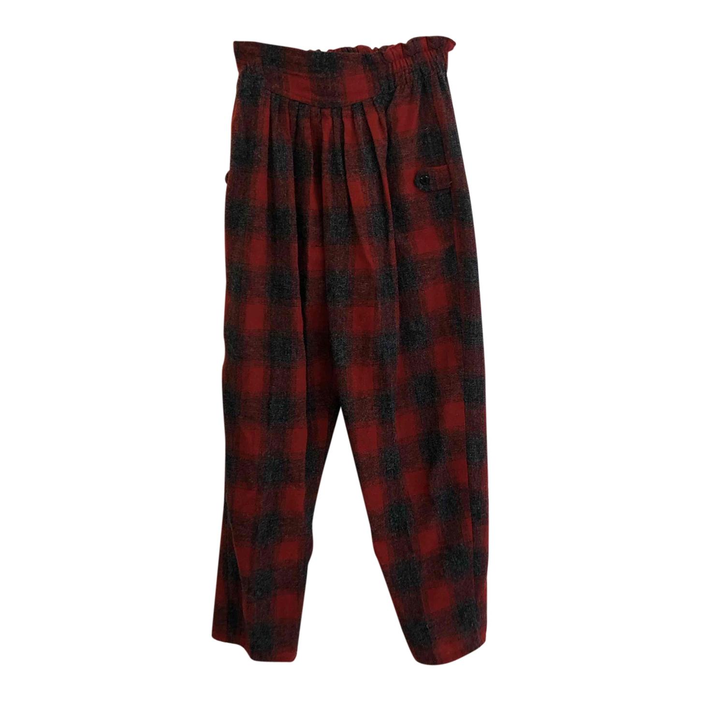 Pantalon à carreaux 80s
