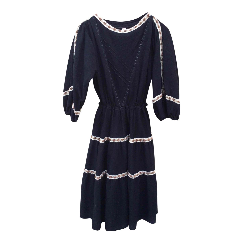 Robe en laine 60s