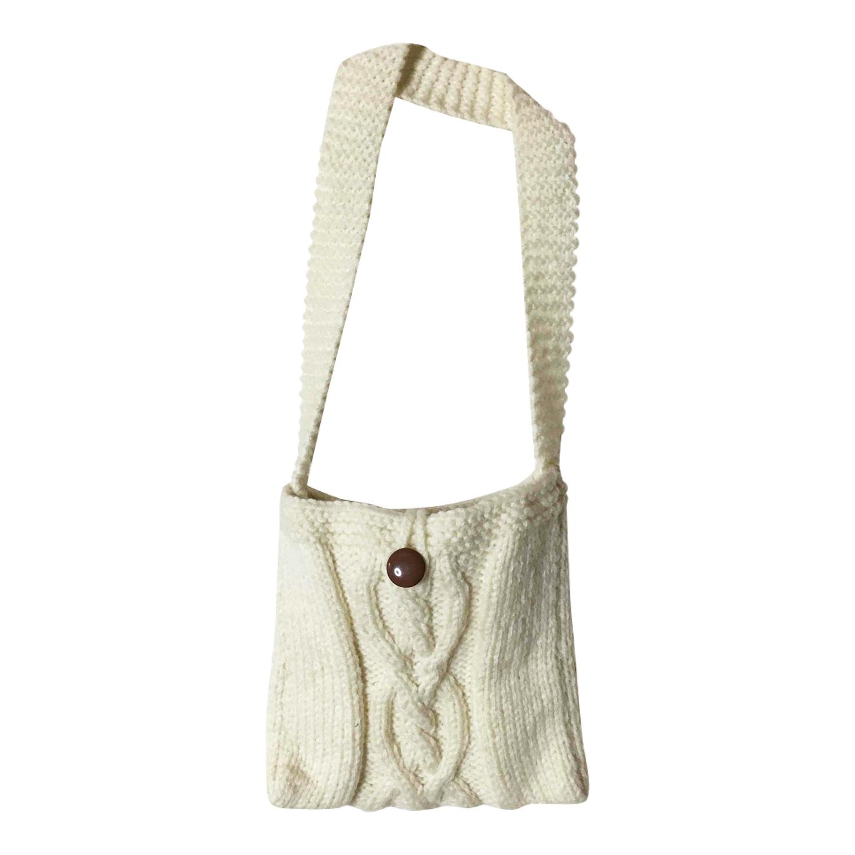 Sac bandoulière en laine