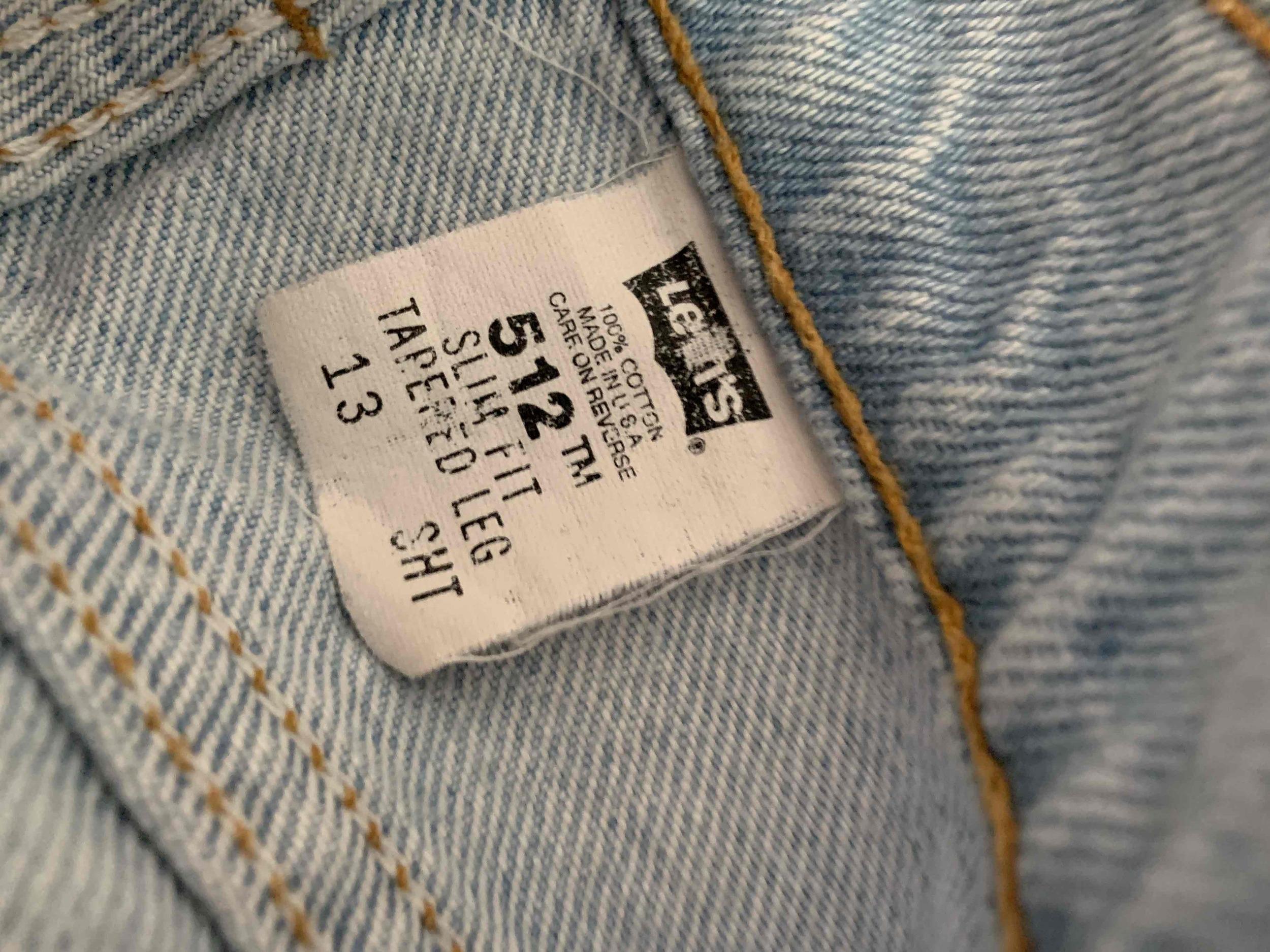 Jean Levi's 512 W32L32