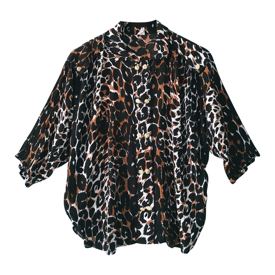 Blouse léopard