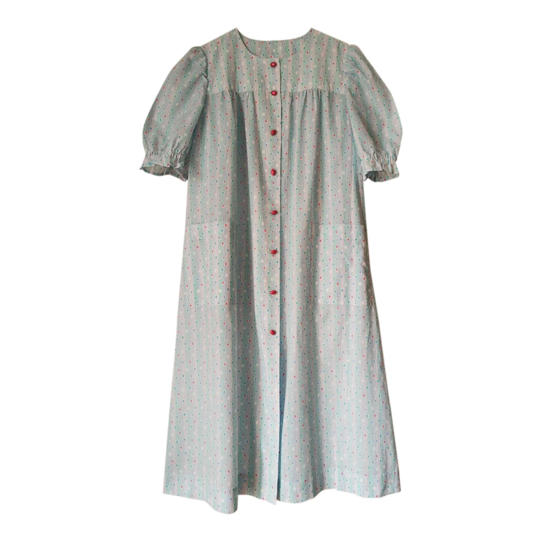 Chemise de nuit en coton imprimé