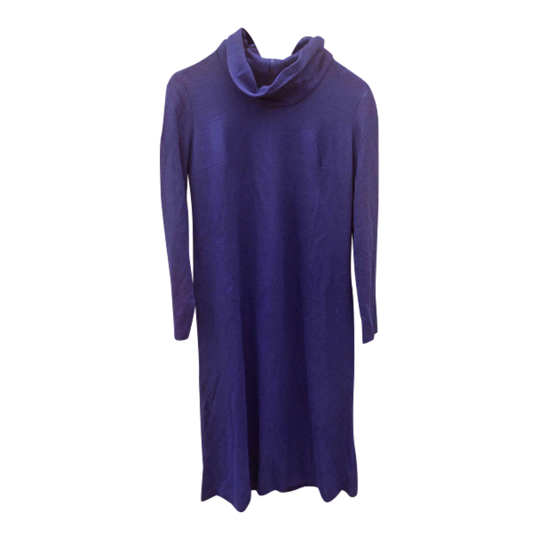 Robe réversible en laine