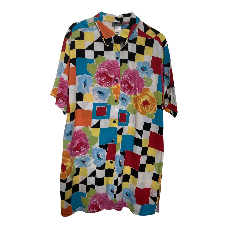 Chemise à motifs 80s