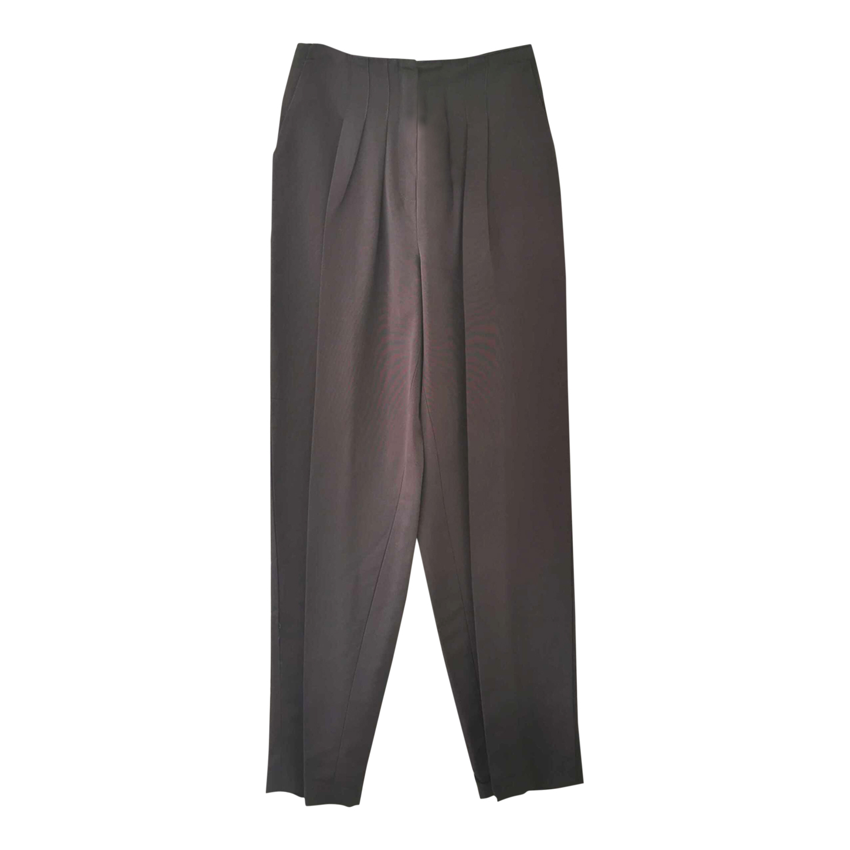 Pantalon taille haute à pinces
