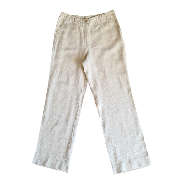 Pantalon en lin 80s