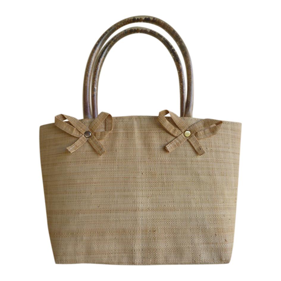 Mini sac en osier