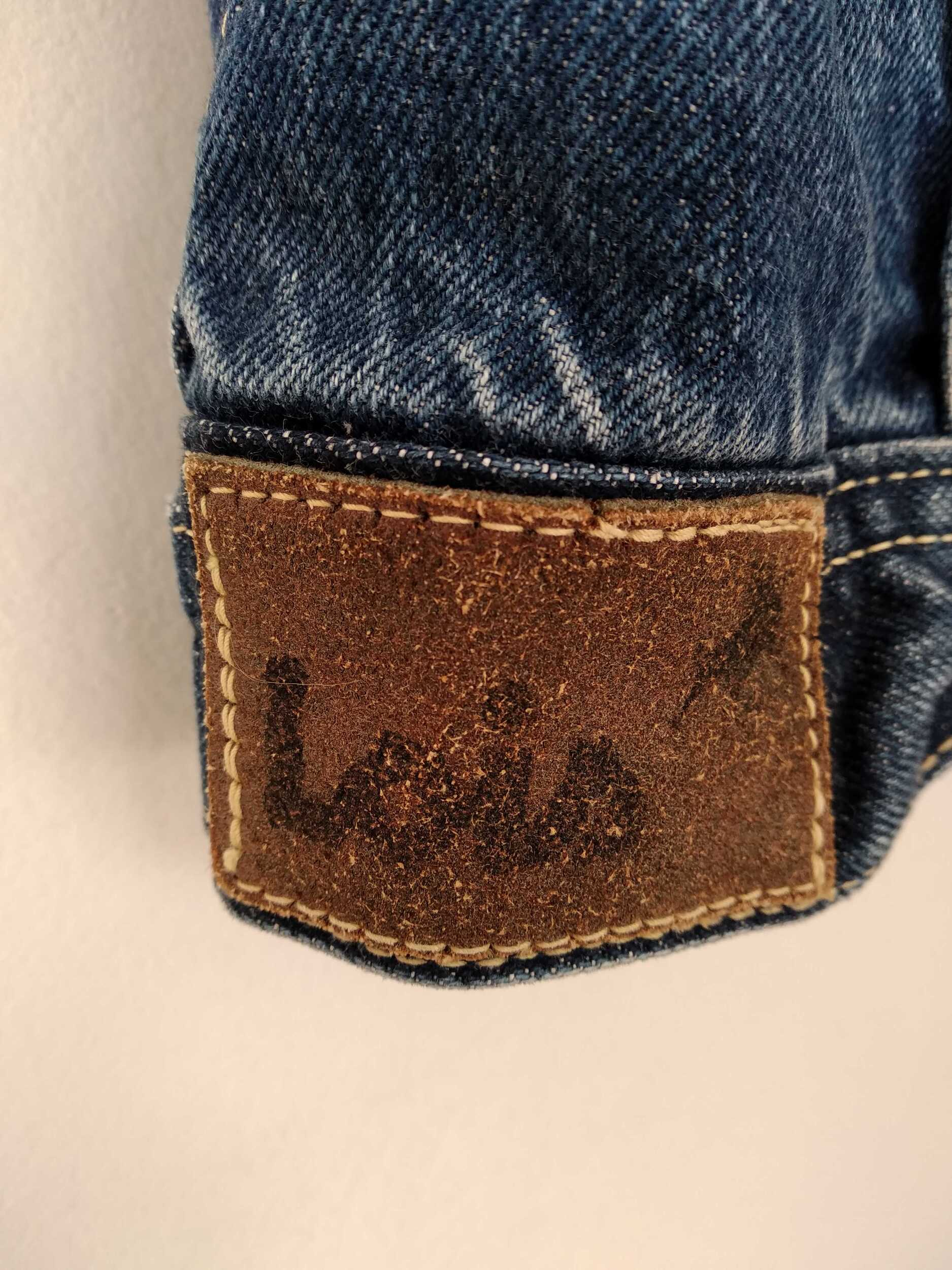 Veste sans manches en jean