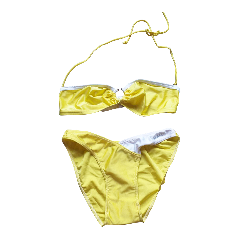 Maillot de bain jaune
