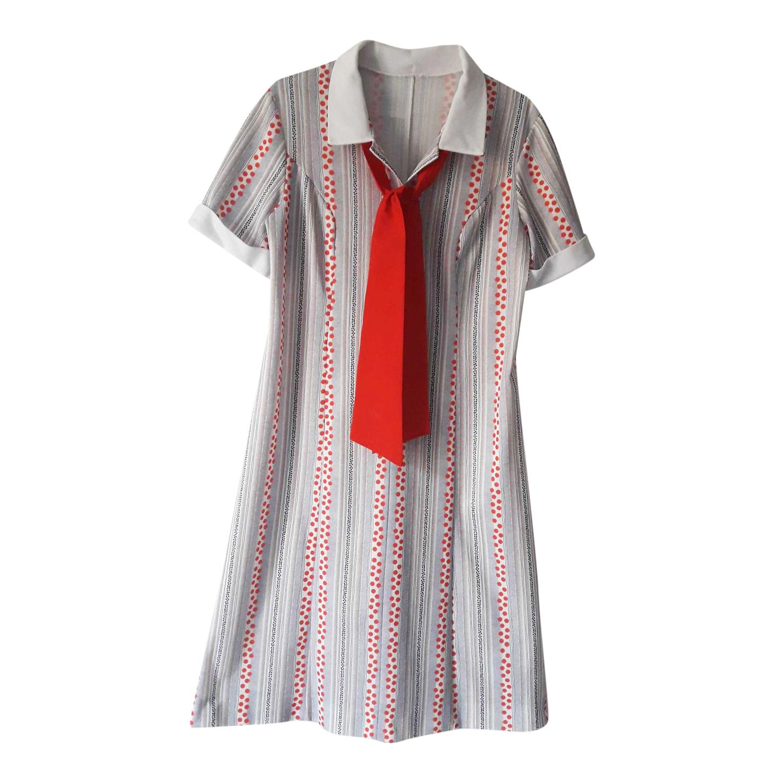 Robe à col cravate
