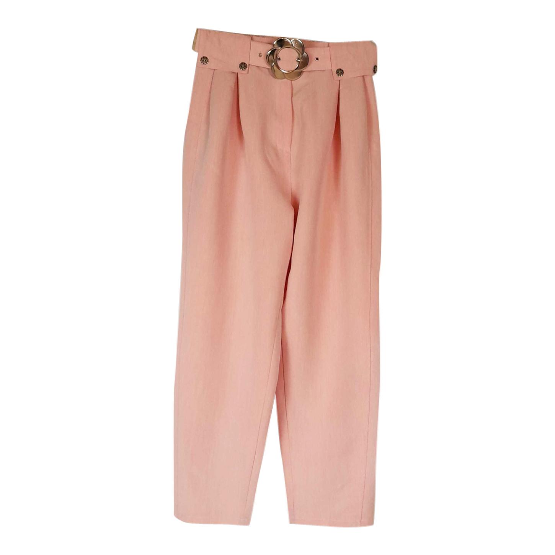 Pantalon rose pastel 90's