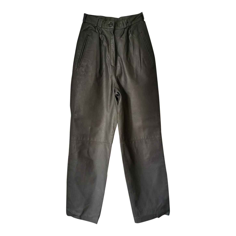 Pantalon en cuir 80s